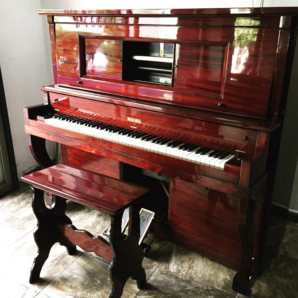 Restauración de pianolas